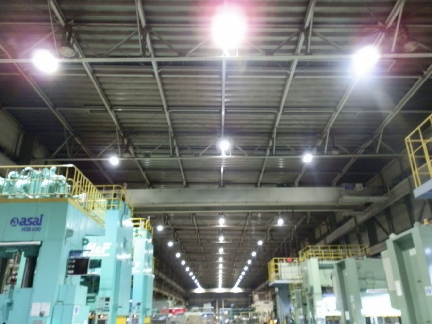 工場 LED導入事例