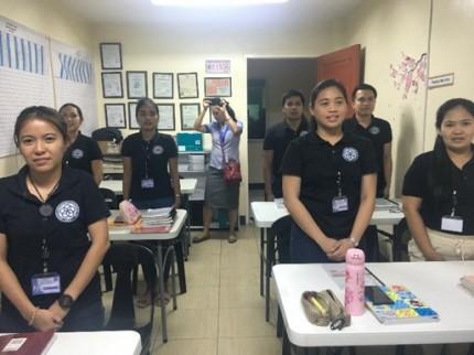 介護と日本語を学ぶフィリピンの特定技能生