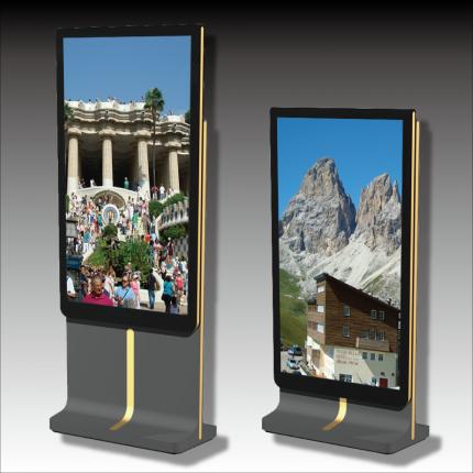 スタンドタイプのデジタル看板 デジタルサイネージ