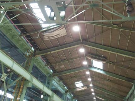 LED照明 設置写真