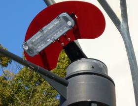 LED照明器具 設置写真