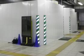 駅構内での屋内用デジタルサイネージ導入事例