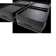 hmd-5500/5510/6045 (洗濯機高さ調整・防振/防音ゴムマット)