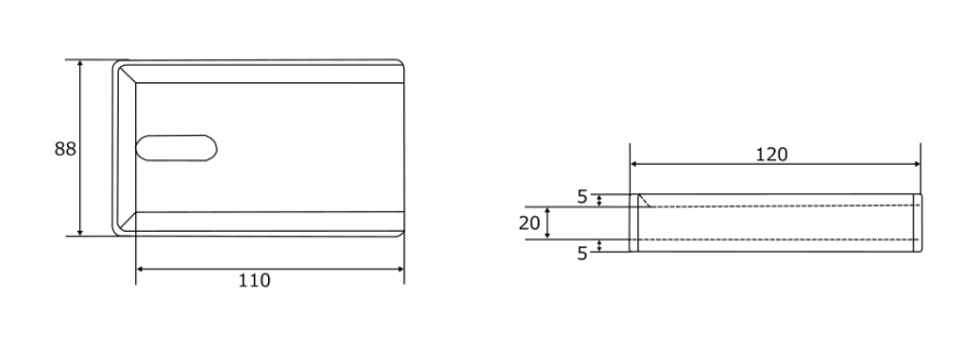 hmd-3020のサイズイメージ画像